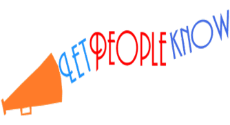 Image of a megaphone with Let People Know going out