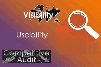 Zoom on Website Audit Competitive audit Usability Visibility